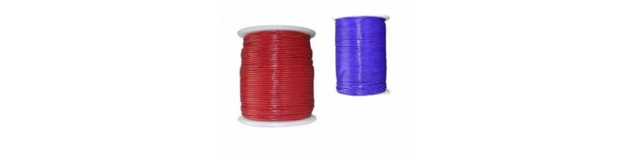 Cordones cuero 1 mm