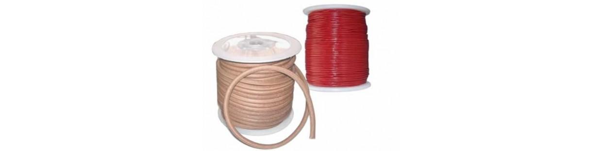 Cordones de cuero 2 mm