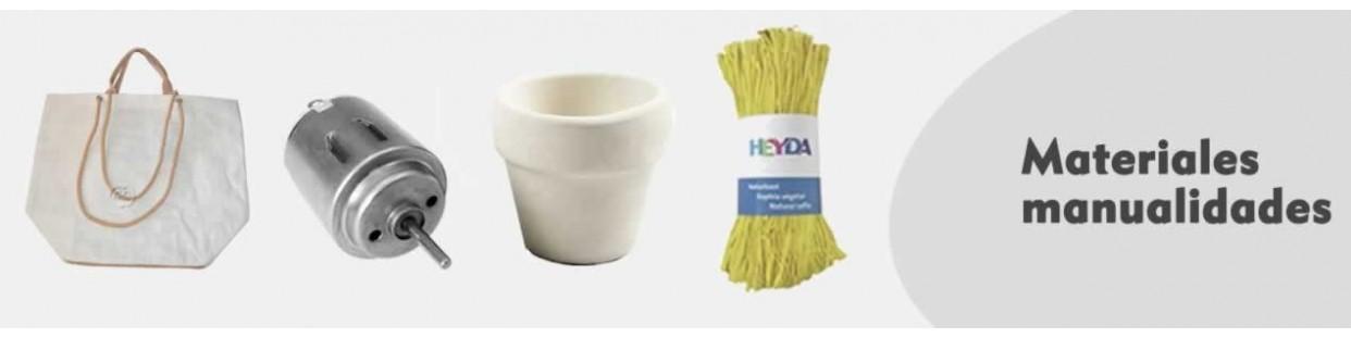 Materiales para manualidades y complementos