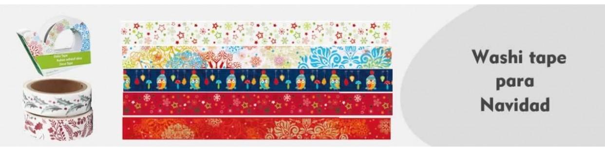 Washi Tape de navidad para tu decoración navideña de scrapbooking