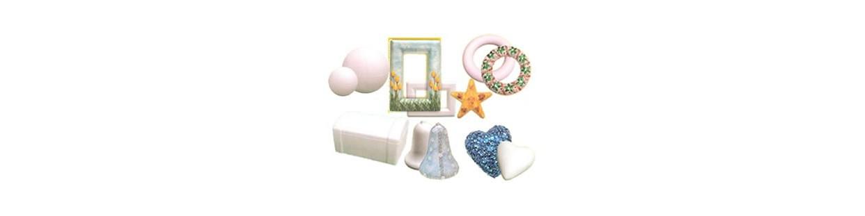 Figuras de porex para manualidades
