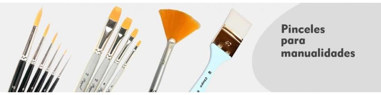 Pinceles para manualidades oleo y acuarelas