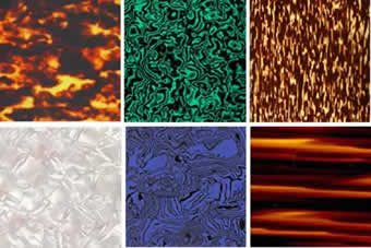 Planchas de acetato