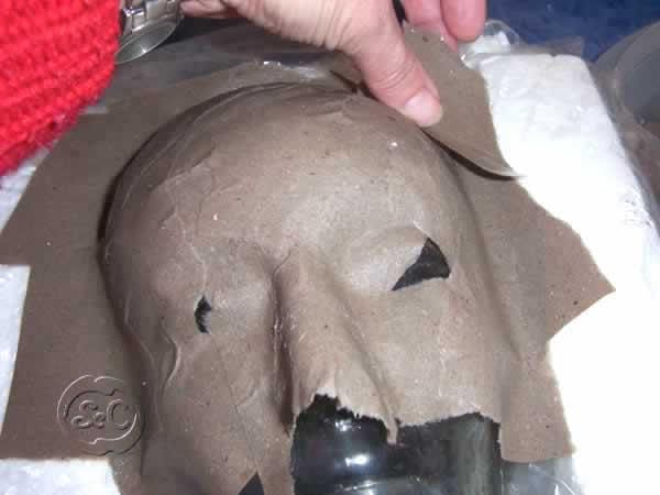 Mascara de carnaval paso 3