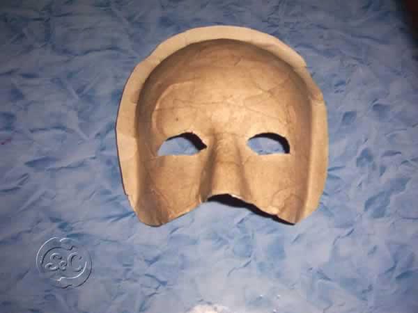 Mascara de carnaval paso 7