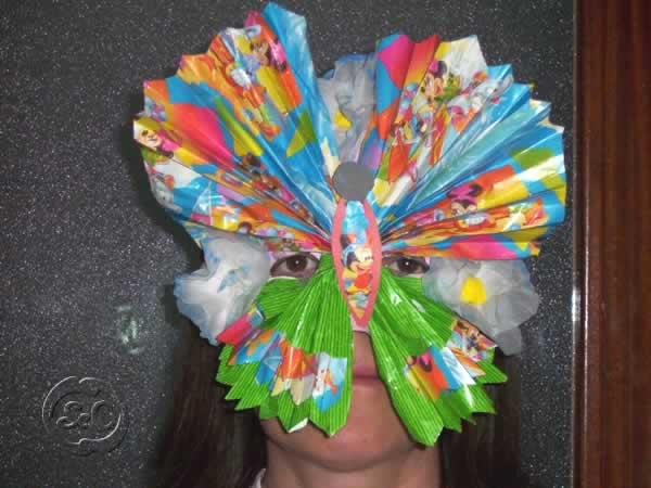 Mascara de carnaval paso 10