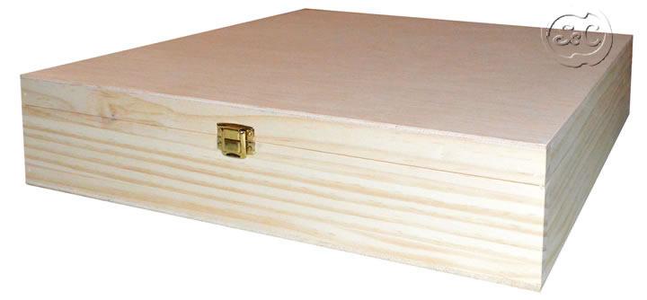 Caja de madera para album