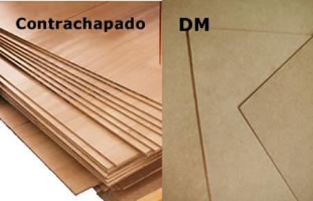 Chapas de madera