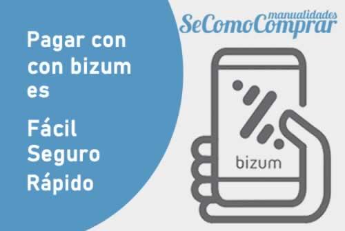 Informacion pagos con Bizum