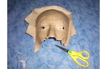 Máscara de carnaval paso a paso